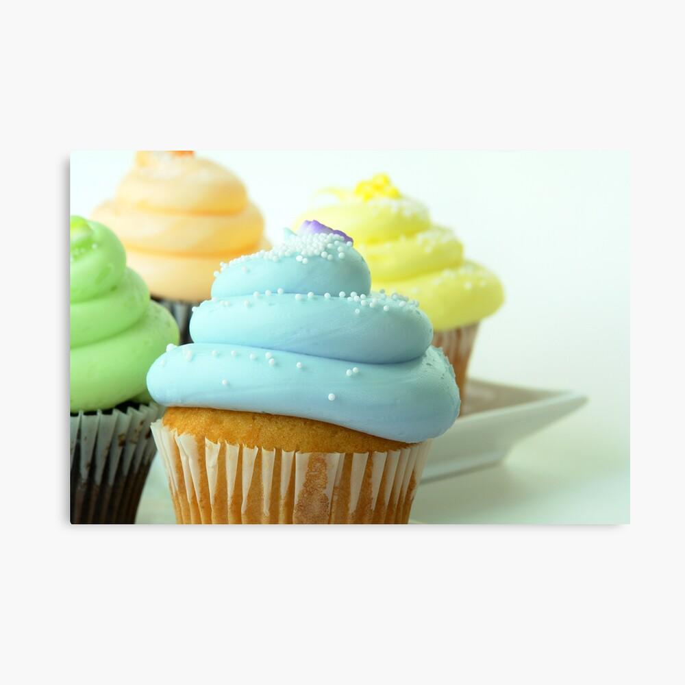 Cupcakes Leinwanddruck