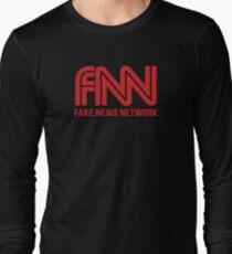 FNN fake news network Long Sleeve T-Shirt