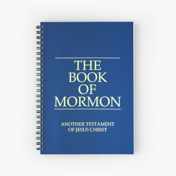 The Book of Mormon English Language Spiral Notebook