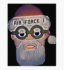 Santa Air Force One  Photographic Print