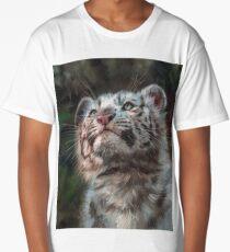 White Tiger Cub Long T-Shirt
