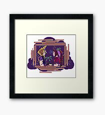 Cloud and Aerith Date Framed Print