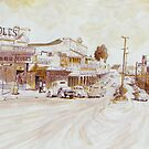Innisfail's Edith Street 1960s  by Cary McAulay