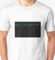 Homebrewing through my directories  T-Shirt