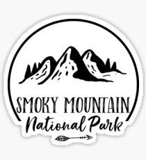 Smoky Mountain National Park Sticker