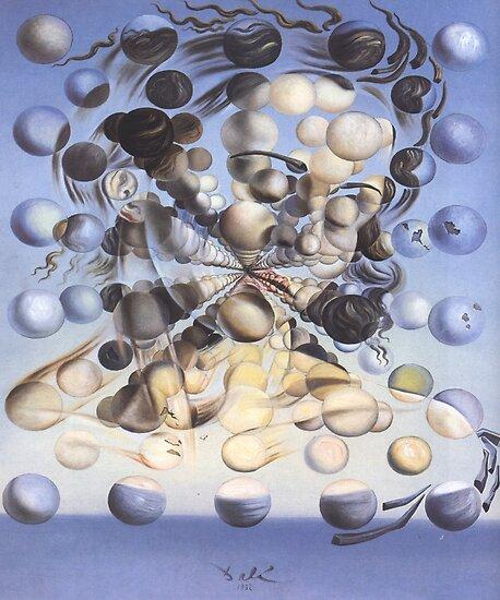 Galatea der Sphären-Salvador Dalí von LexBauer