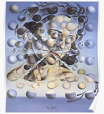 Galatea of the Spheres-Salvador Dalí Poster