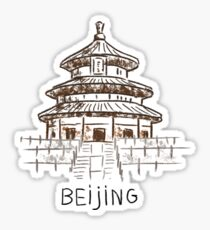 Beijing China Sticker