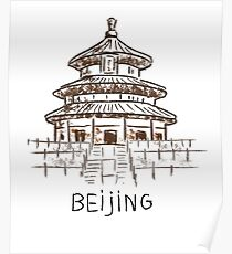 Póster Beijing, China