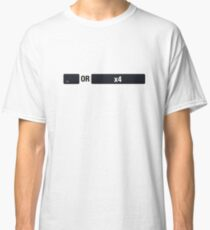 Tabs != 4x Spaces  Classic T-Shirt