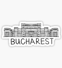 Bucharest Romania Sticker