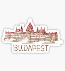 Budapest Hungary Sticker