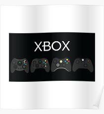 Xbox Controller Evolution  Poster