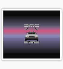 De Lorean DMC-12 Sticker