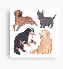 dogs dogs dogs dogs Metal Print