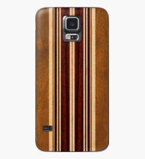 Nalu Lua Faux Koa Wood Hawaiian Surfboard Case/Skin for Samsung Galaxy