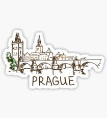 Prague Czech Republic Sticker