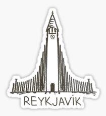 Reykjavik Iceland Sticker