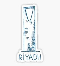 Riyadh Saudi Arabia Sticker