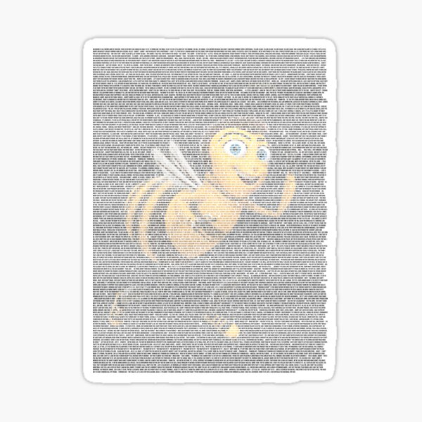 Barry (entire) bee (movie script) benson Sticker