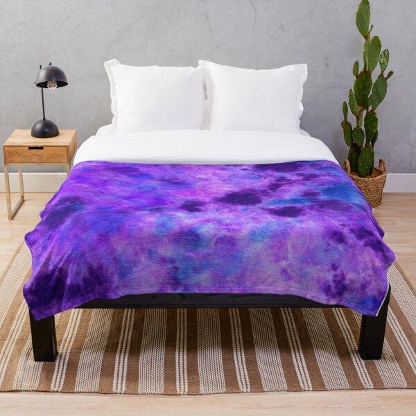 Tanzanite DyeBlot Throw Blanket