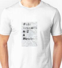 Community #SixSeasonsAndAMovie  T-Shirt