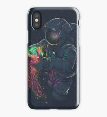 ASTRONAUT AND JELLYFISH iPhone Case/Skin