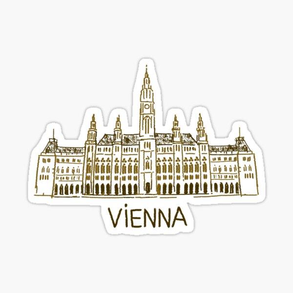 Vienna Austria Sticker