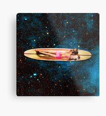 Pleiadian Surfer Metal Print