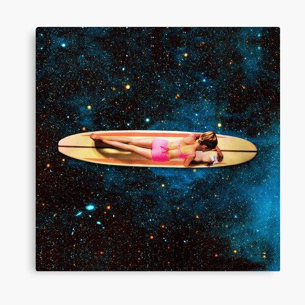 Pleiadian Surfer Canvas Print