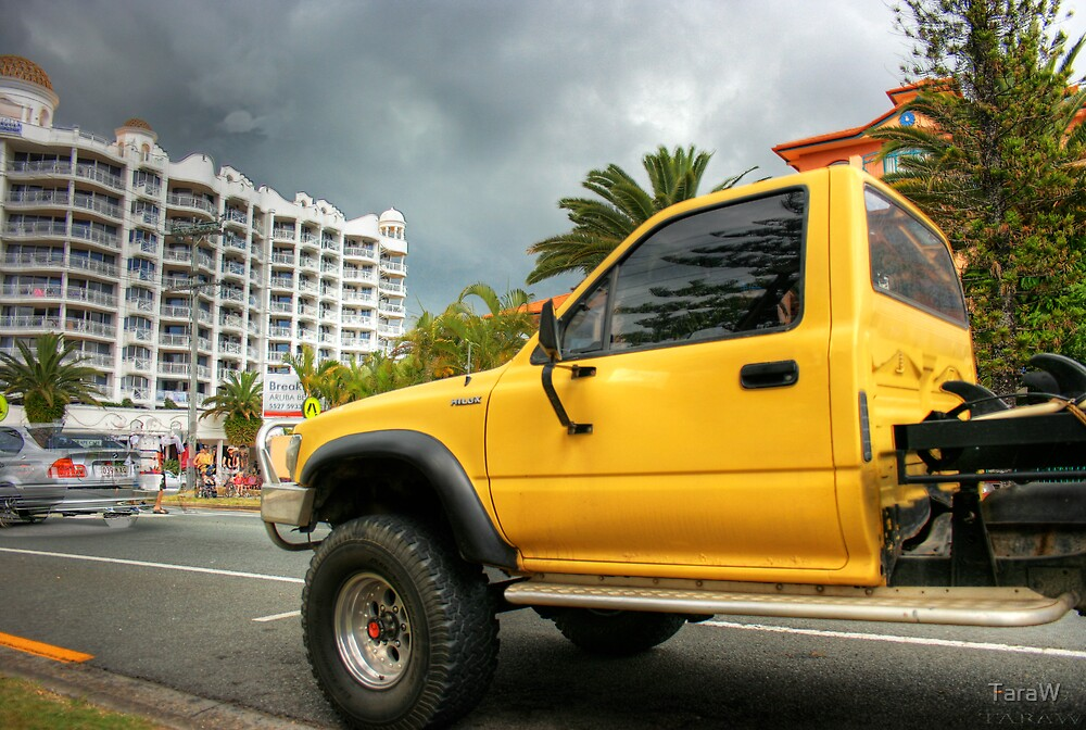 yellow truck by TaraW