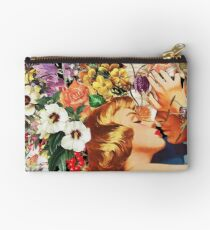 Floral Bed Studio Pouch