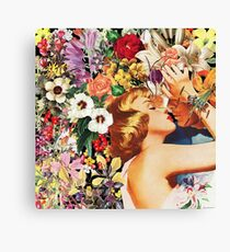 Floral Bed Canvas Print