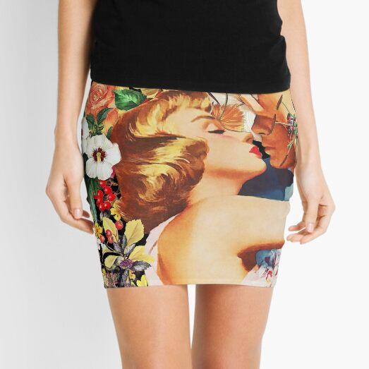 Cama floral Minifalda