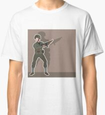 WW2 Soldier Classic T-Shirt