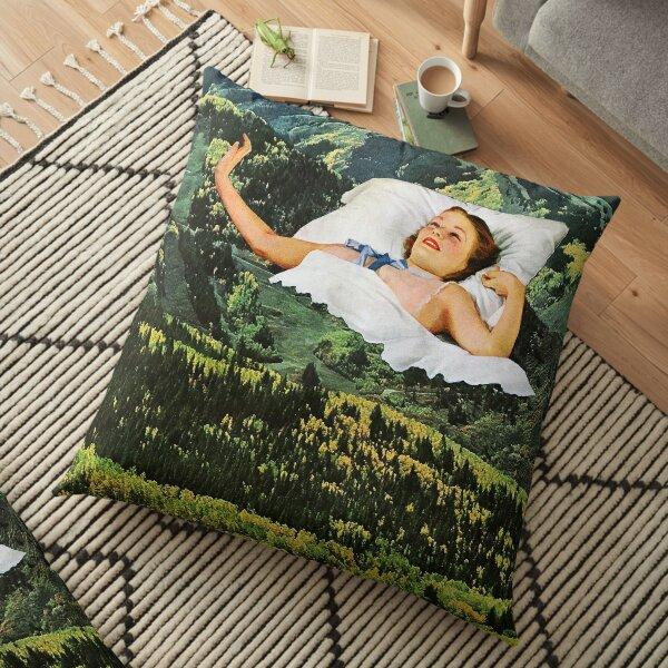 Rising Mountain Floor Pillow