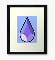 Holly Blue Agate Framed Print