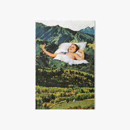 Rising Mountain Art Board Print