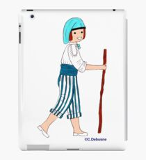 Costume traditionnel de PROVENCE, France iPad Case/Skin
