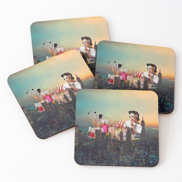 Urban Camouflage Coasters (Set of 4)