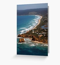 Split Point Lighthouse Greeting Card