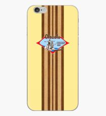 Tandem Surfing Hawaiian Vintage Surf Design  - Yellow iPhone Case