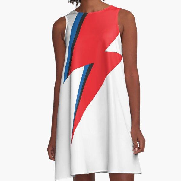 Lightning bolt A-Line Dress