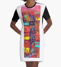 Under construction Graphic T-Shirt Dress