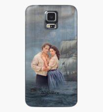 Funda/vinilo para Samsung Galaxy Outlander-Jamie y Claire / Voyager