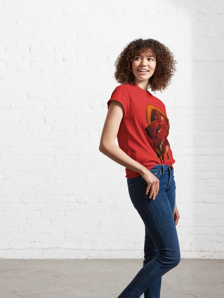 Alternate view of Red Witch - Bruja Roja Classic T-Shirt