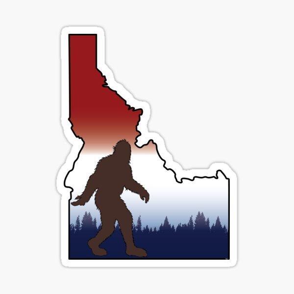 Squatchin'Idaho Sticker