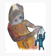 minni puppet master Photographic Print