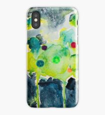 Rick and Morty Fart Watercolor iPhone Case/Skin