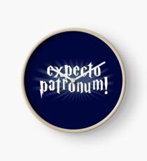 expecto patronum hallows Clock